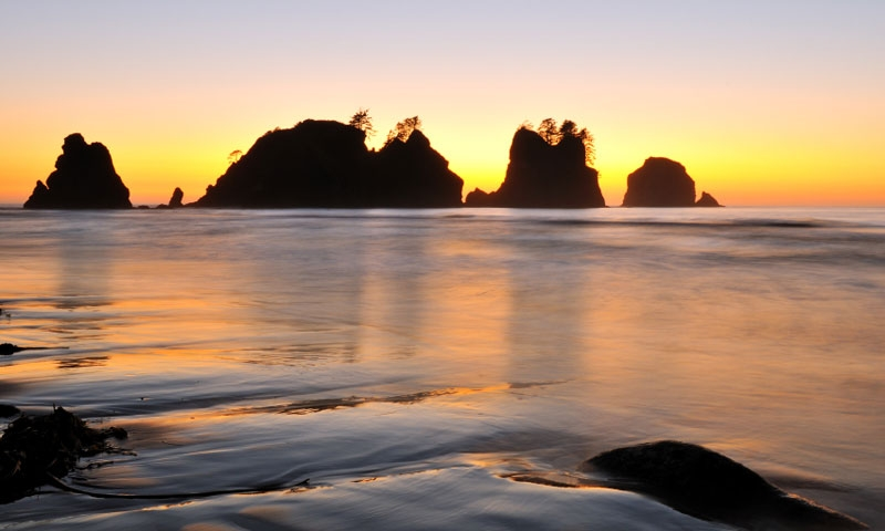 Shi Shi Beach in Olympic National Park
