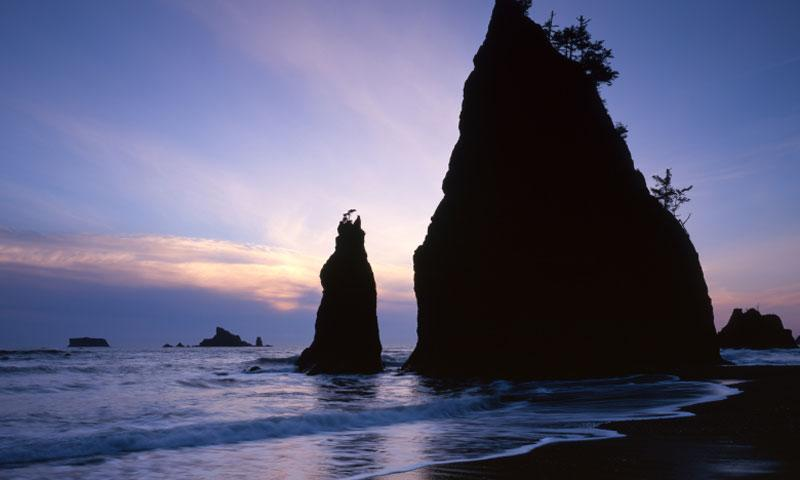 Rialto Beach in Olympic National Park