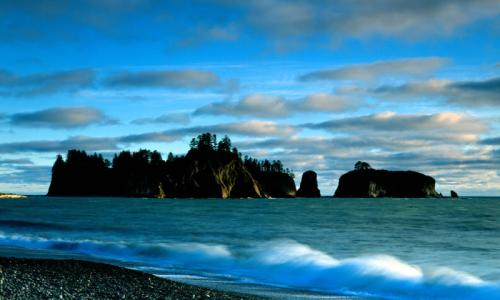 Olympic Peninsula Ruby Beach