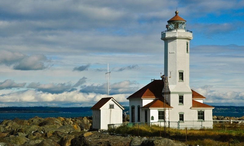 Point Wilson Lighthouse at Fort Worden State Park