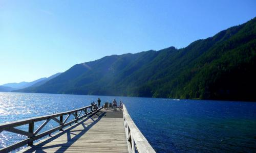 Lake Crescent Washington Pier