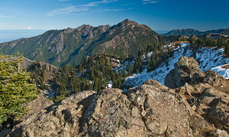 Mount Angeles in Olympic National Park