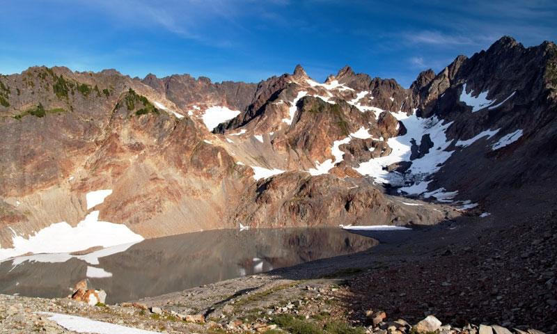 Anderson Glacier in Olympic National Park