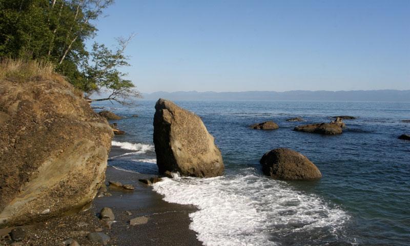 Clallam Bay near Seiku Washington