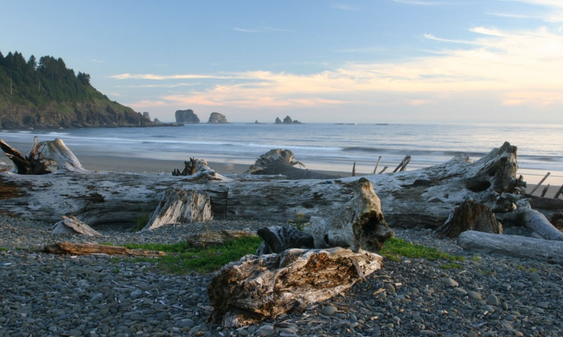 First Beach at La Push in Olympic National Park