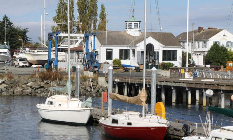 Harbor at Port Townsend Washington
