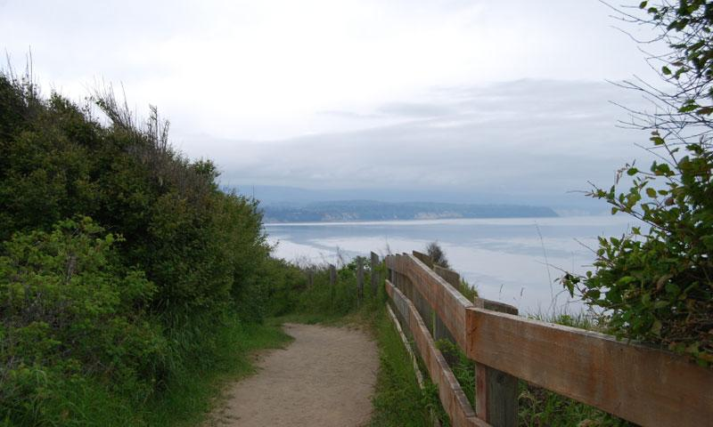 The Dungeness Trail in Sequim Washington