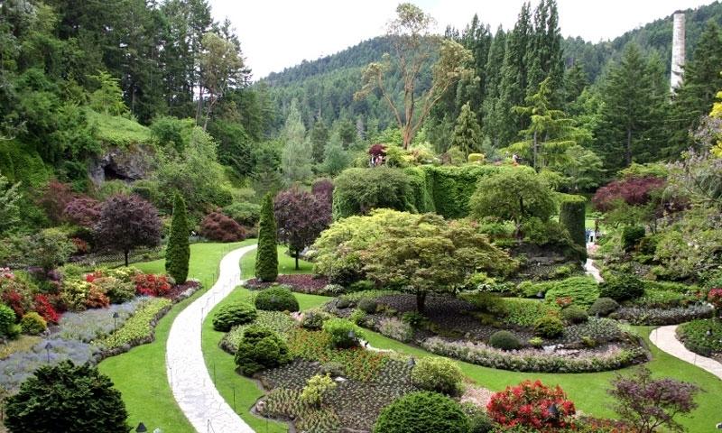 Butchart Gardens in Victoria Canada