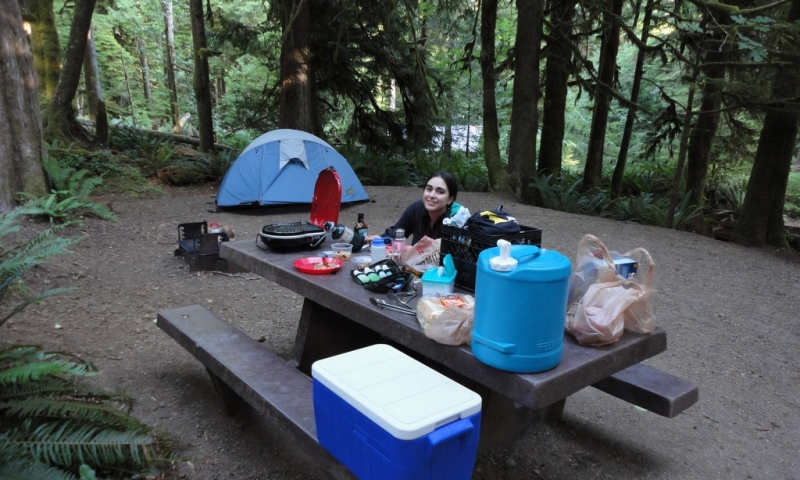 Fairholme Campground Olympic National Park Alltrips