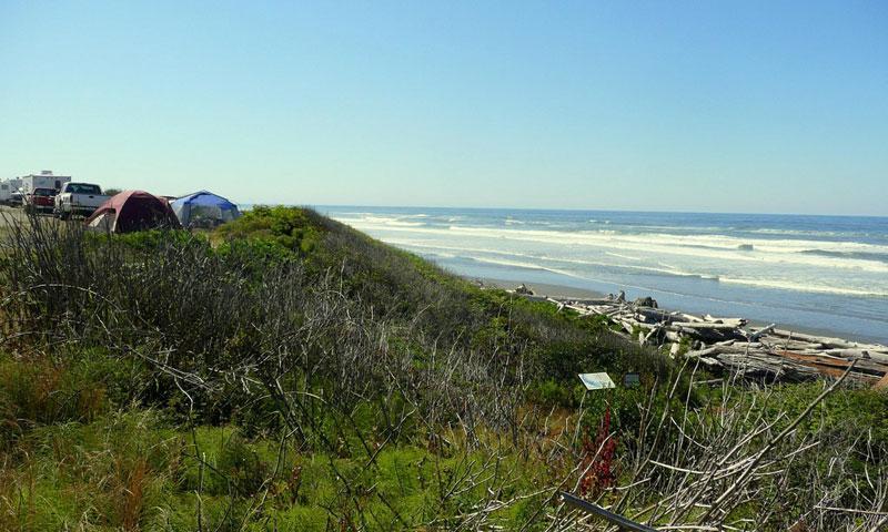 Sol Duc Beach Campground