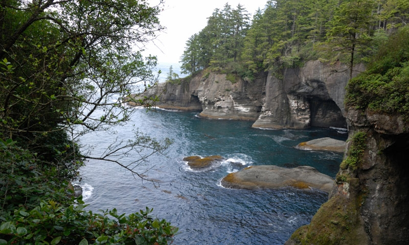 Cape Flattery along the Strait of Juan de Fuca