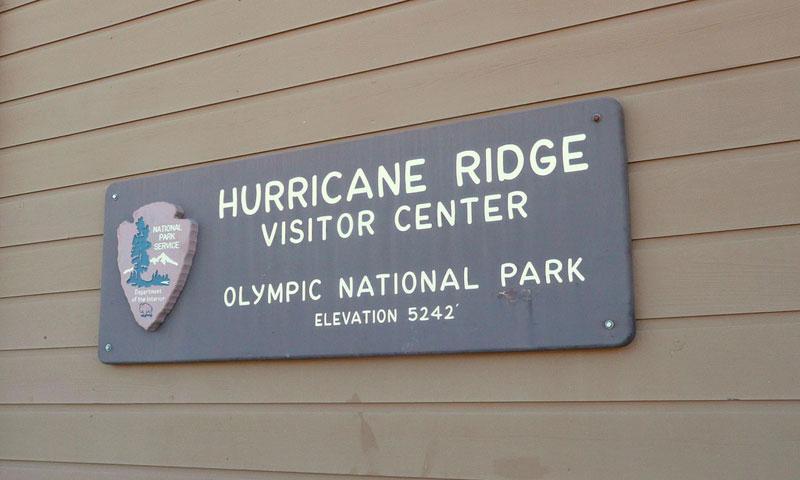 Hurricane Ridge Visitor Center