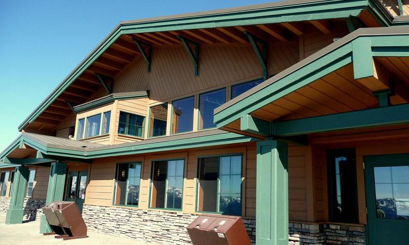 Olympic National Park Visitor Center on Hurricane Ridge