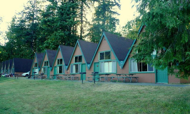 Log Cabin Resort on Lake Crescent