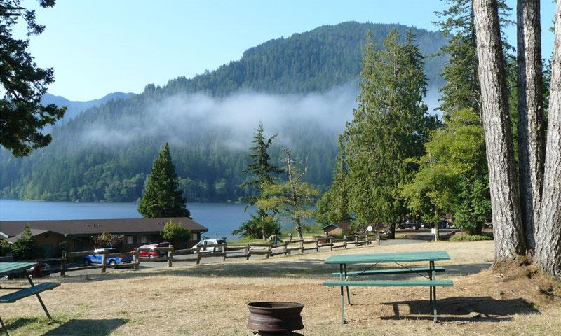 Log Cabin Resort Lake Crescent Washington Alltrips