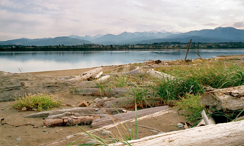 Dungeness Spit in Sequim Washington