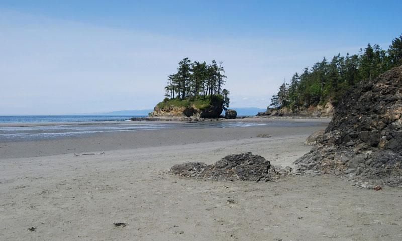 Crescent Beach at Salt Creek Rec Area