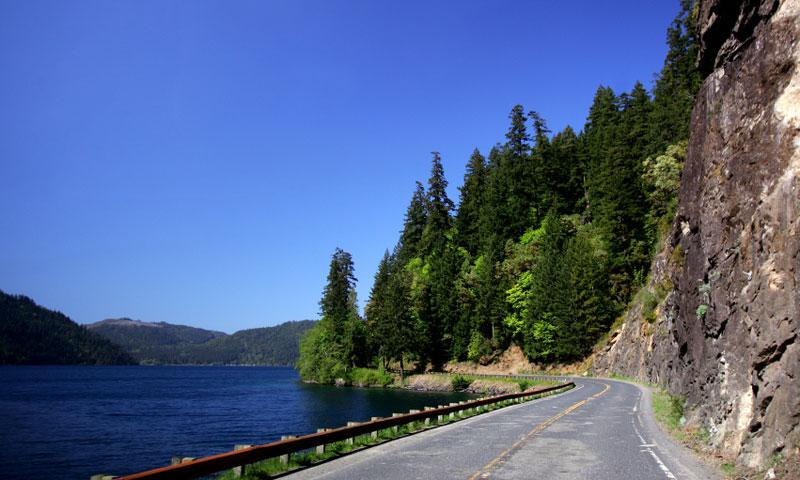 Pacific Coast Scenic Byway in Olympic National Park