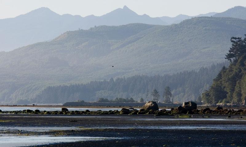 Strait of Juan de Fuca in Washington