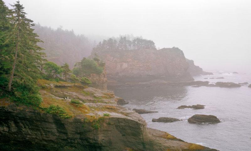 Cape Flattery along the Strait of Juan de Fuca
