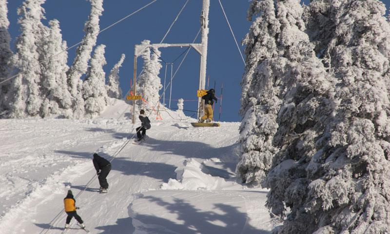 Hurricane Ridge Ski Resort in Olympic National Park